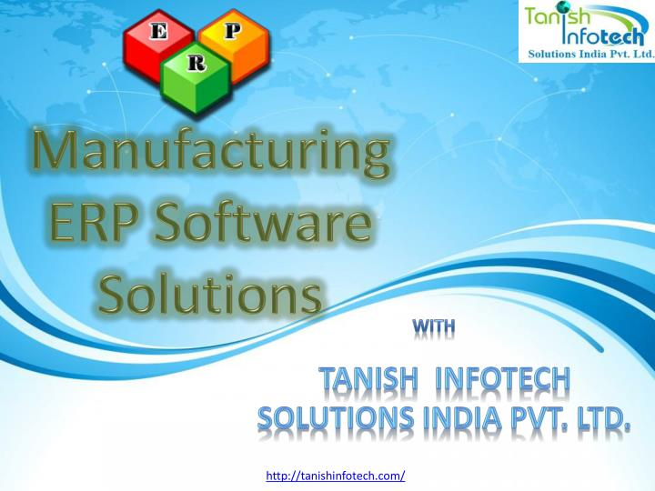 Manufacturing ERP Software Solutions