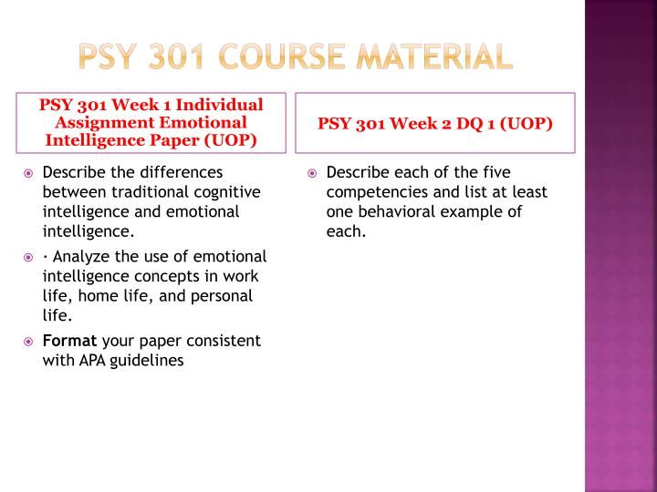 psy 301 Posts about psy 301 week 1 assignment written by homeworrkaid.