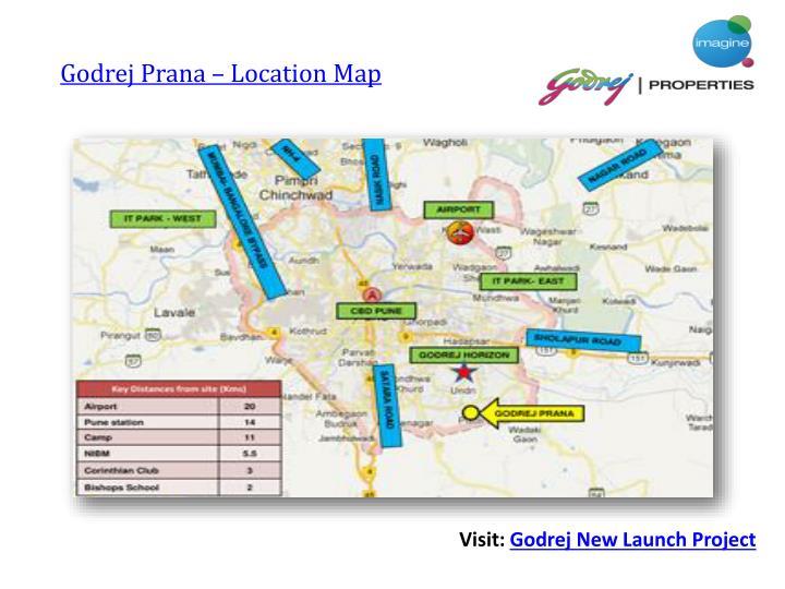 Godrej Prana – Location Map