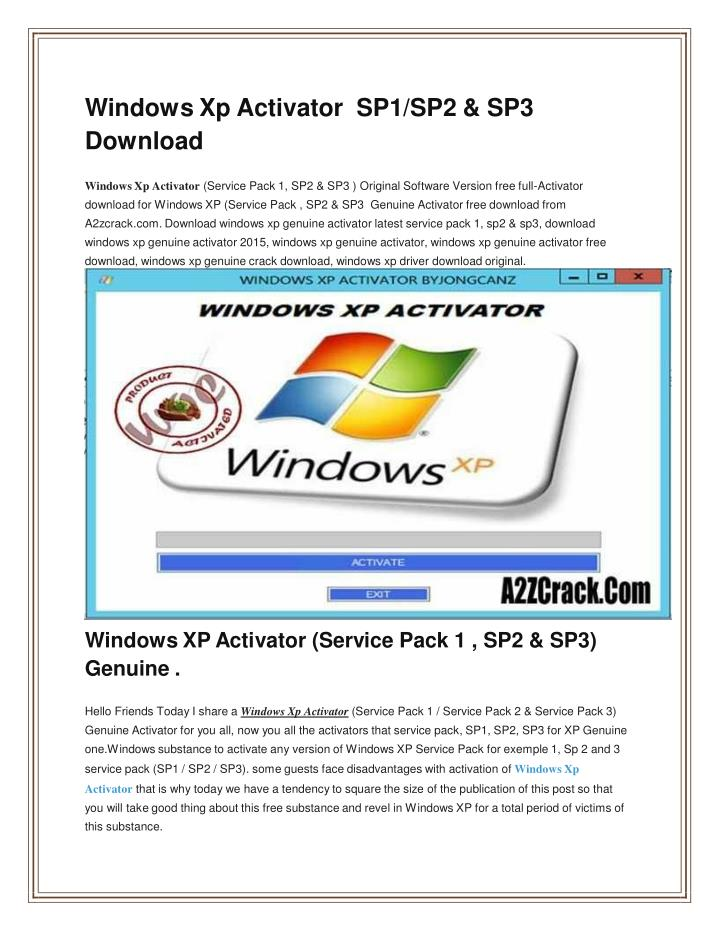 removewat for windows xp sp3 free download