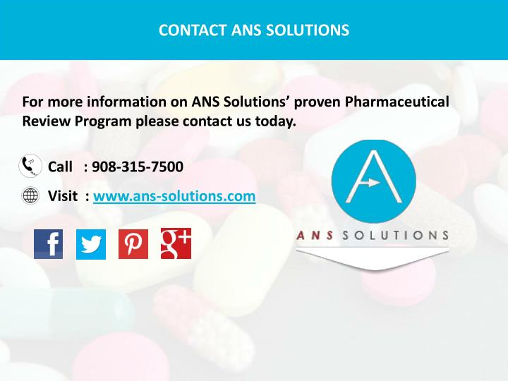 CONTACT ANS SOLUTIONS