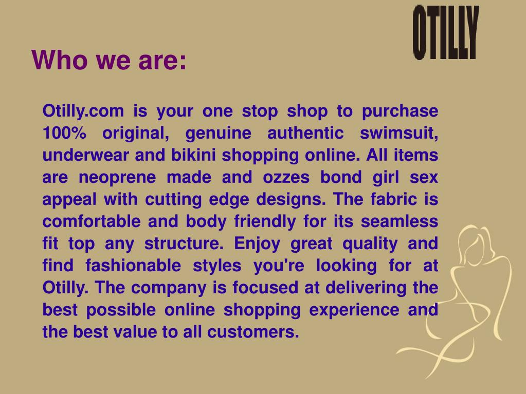 8cb2a9a5b561b ... genuine authentic swimsuit, underwear and bikini shopping online. All  items are neoprene made and ozzes bond girl sex appeal with cutting edge  designs.