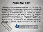 about our firm