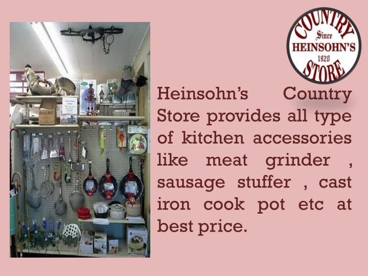 Heinsohn's