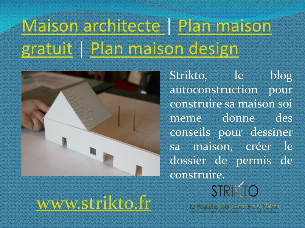 Ppt Construire Sa Maison Soi Meme Plan Maison 3d Powerpoint Presentation Id 7172244