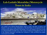leh ladakh motorbike motorcycle tours in india