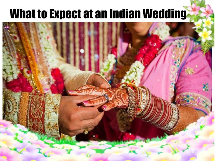 what to expect at an indian wedding n.