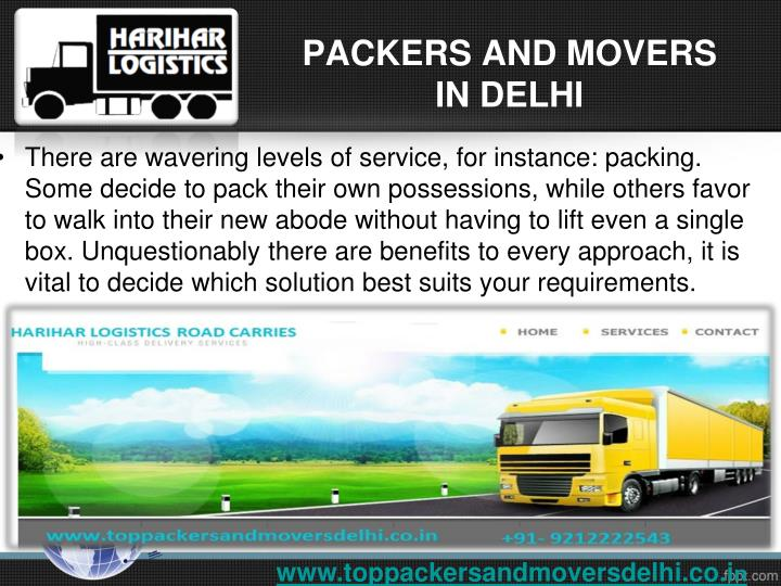 Packers and movers in delhi1