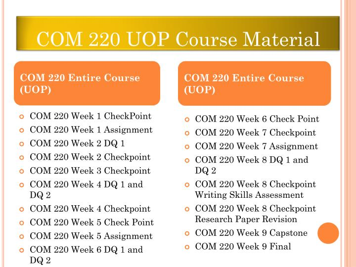 com220 week 1 assignment uop com 220 week 1 assignment bias, rhetorical devices, and argumentation check this a+ tutorial guideline at h brainiacom join now login search saved.