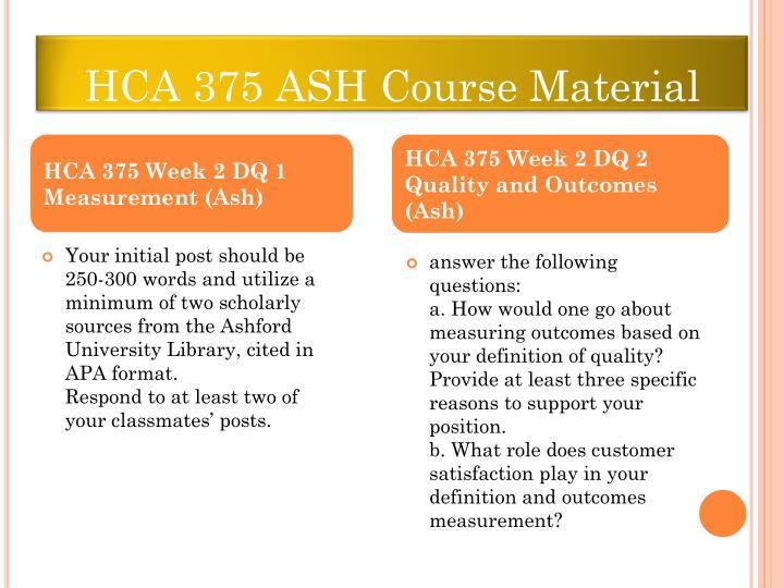 HCA 375 ASH