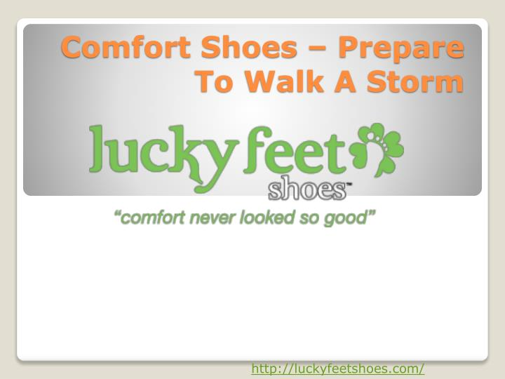 comfort shoes prepare to walk a storm n.