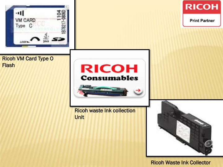 Ricoh VM Card Type O Flash