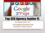 top seo agency jupiter fl1