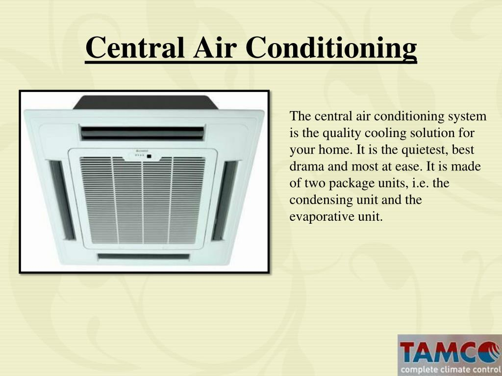 Ppt How Various Air Conditioner Works Powerpoint