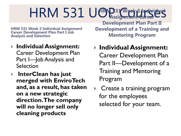 Hrm 531 uop courses2