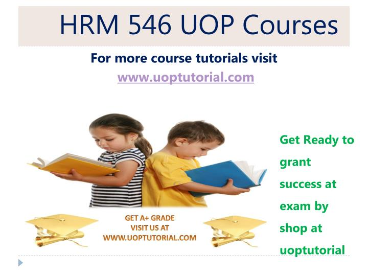 hrm 546 uop courses