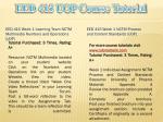 eed 415 uop course tutorial1