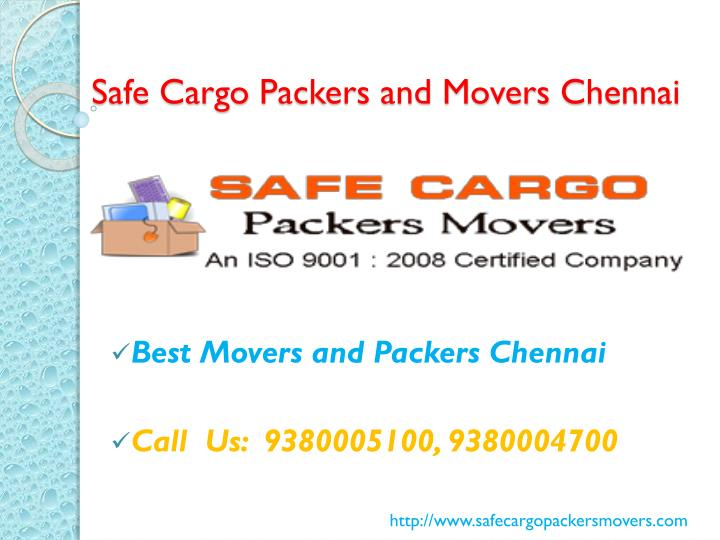 safe cargo p ackers and movers c hennai n.