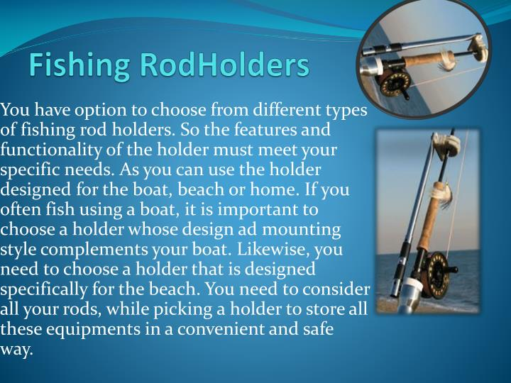 Fishing rodholders
