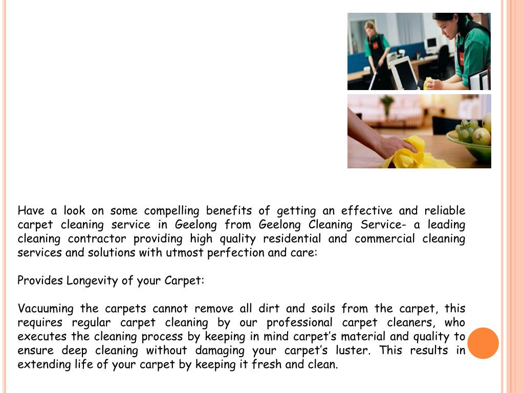 PPT - Reliable and High Quality Carpet Cleaning Service in Geelong