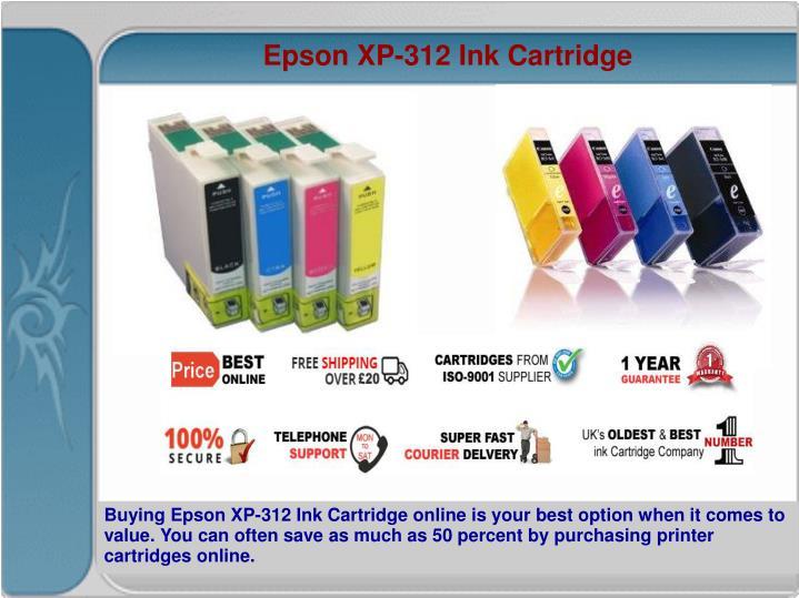 Epson XP-312 Ink Cartridge