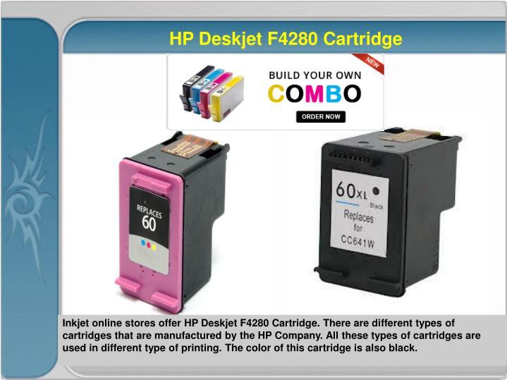 HP Deskjet F4280 Cartridge