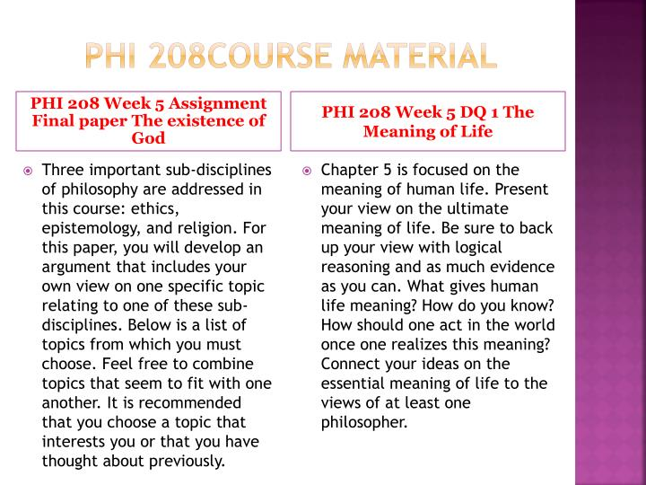phi 208 final paper Choose one of the applied ethics topics from the list below provide a brief description of your topic and the thesis you chose in the opening paragraph of your paper this topic should be the thesis that you worked on in week one and refined in week three remember that your first paragraph must.