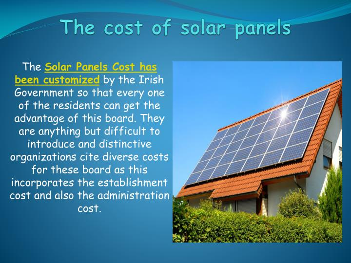 the cost of solar panels n.