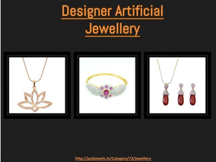 Designer artificial jewellery