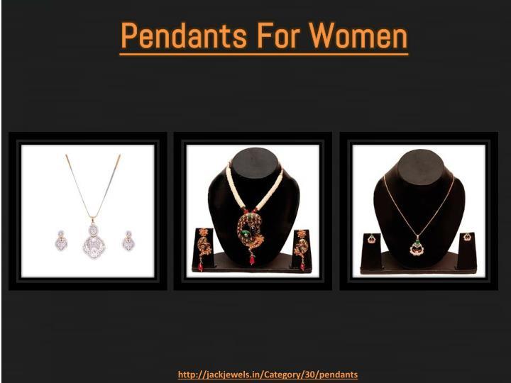 Pendants For Women