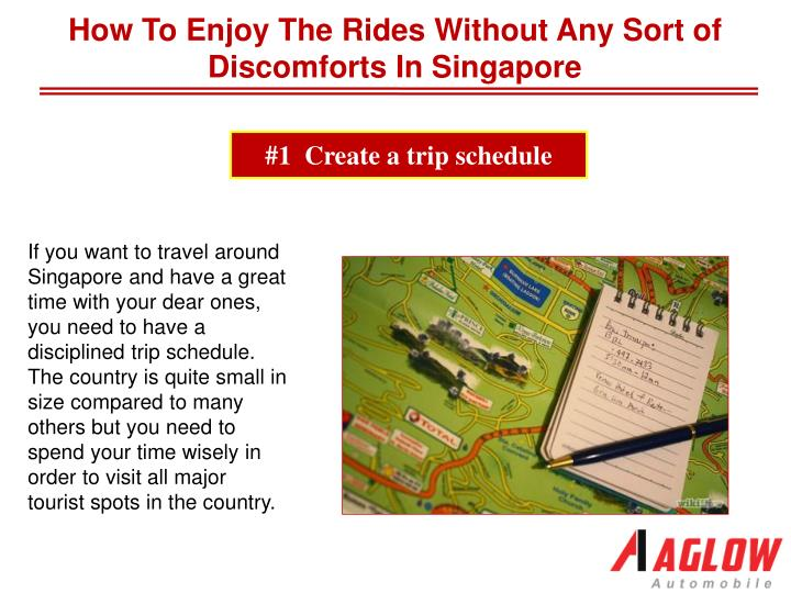 How To Enjoy The Rides Without Any Sort of Discomforts In Singapore