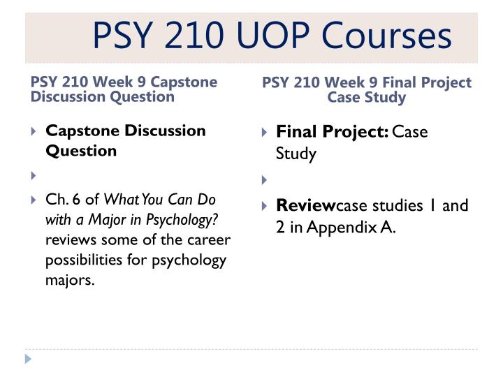 psy 210 week 9 final project View it 206 week 9 final project common microsoft 8 assignment psychological disorders' presentation psy 210 week 9 final project case study psy 210 week.