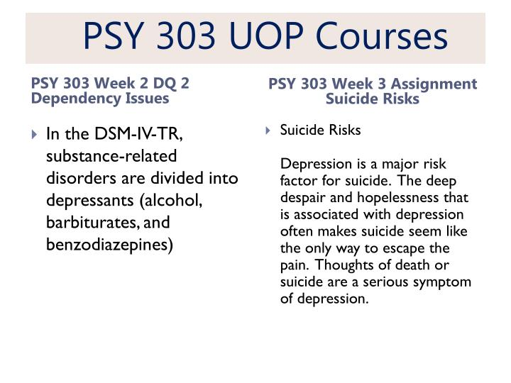 psy 303 week 3 assignment gathering Click the button below to add the psy 303 week 3 assignment gathering collateral information to your wish list.
