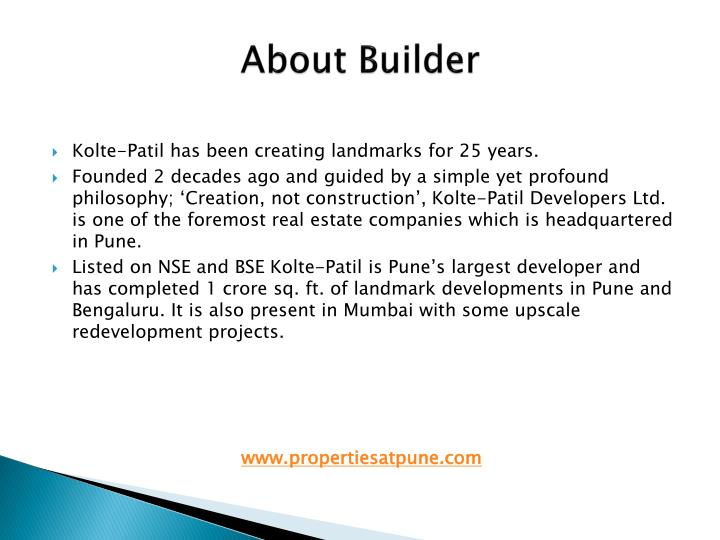 About Builder