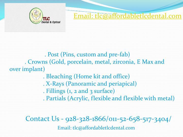 Email: tlc@affordabletlcdental.com