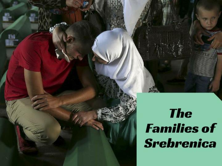 the families of srebrenica n.