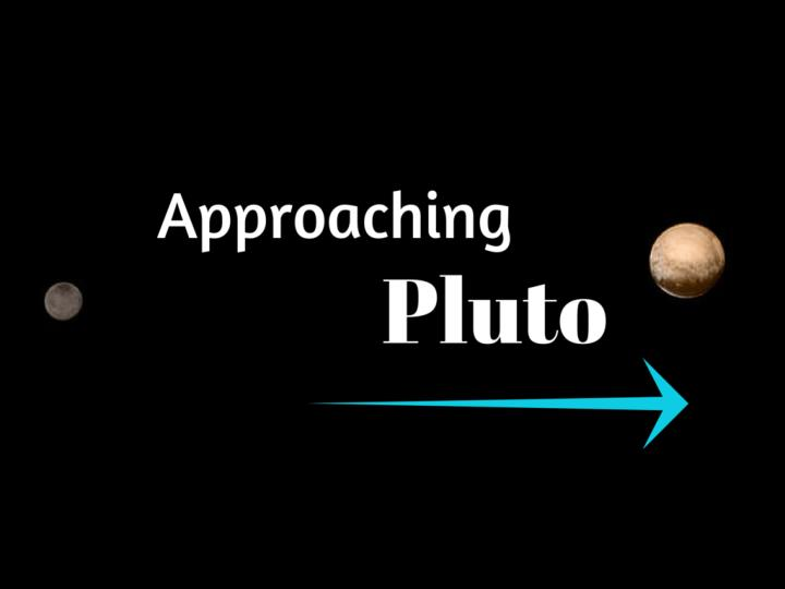 approaching pluto n.
