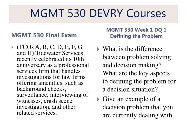 exam 3 mgmt 310a way Mfc312 exam 3(ch 9 – ch 11) 1) when we consider data in the one way to improve the data capture process is to: a) total quality management 4 22.