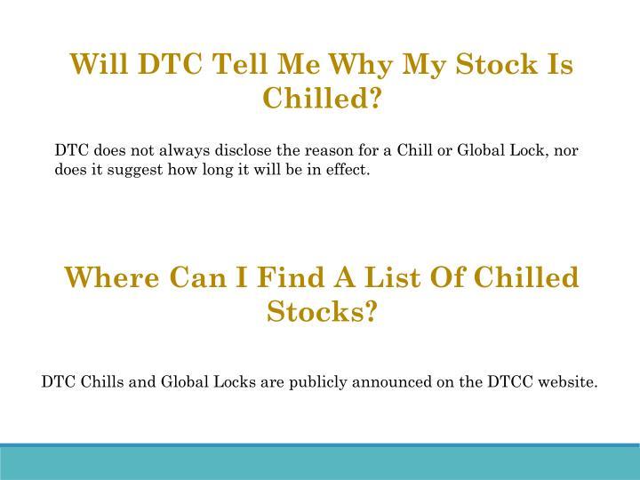 Will DTC