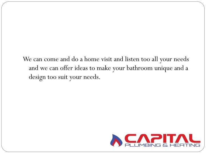 We can come and do a home visit and listen too all your needs and we can offer ideas to make your ba...
