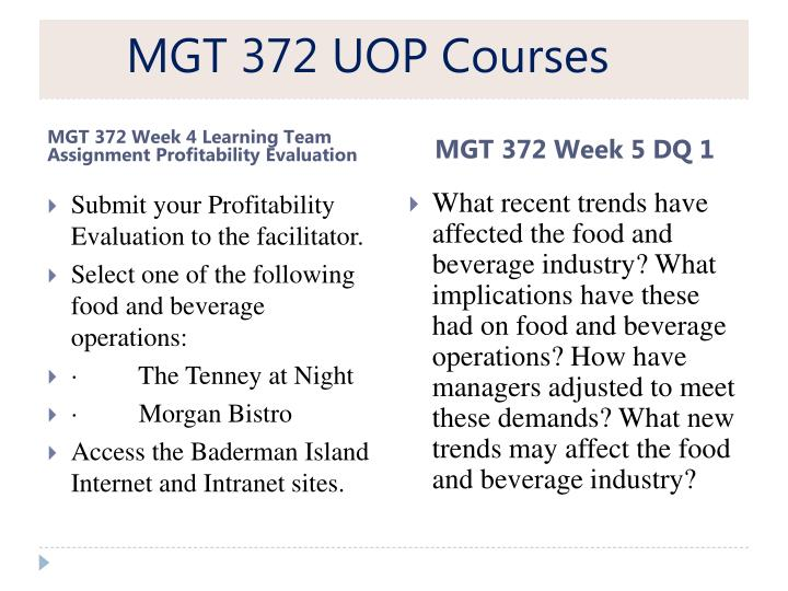 uop mgt 598 Mgt 598 week 5 team assignment budget process for more course tutorials visit wwwuophelpcom continue using the project and organization used for weeks 2 and 4.