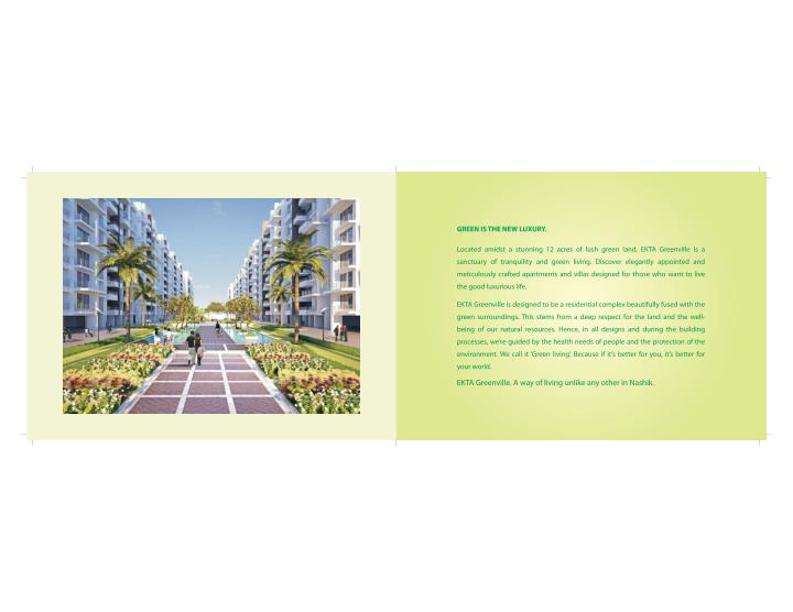 Real estate brochure ekta greenville