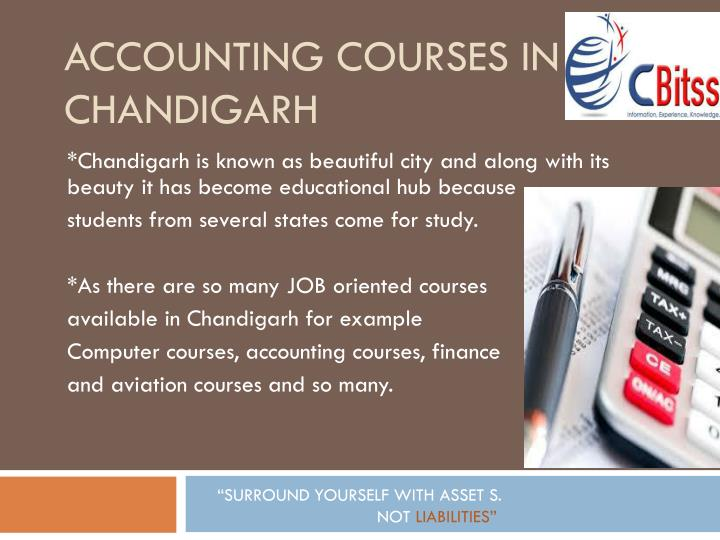 ACCOUNTING COURSES IN