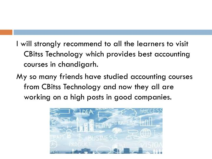 I will strongly recommend to all the learners to visit