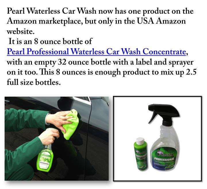 Pearl Waterless Car Wash