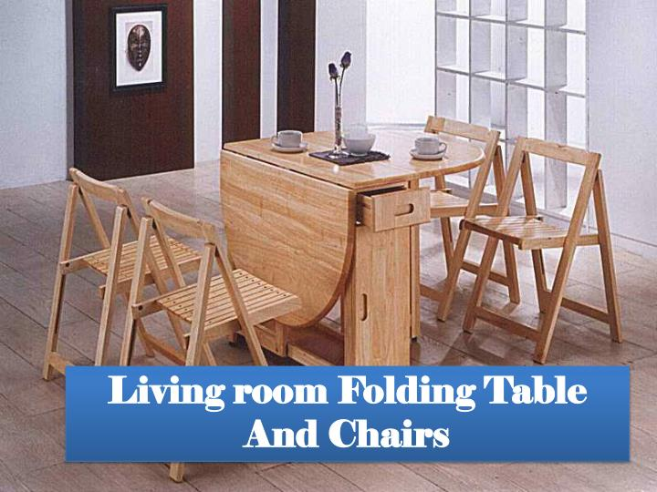 Ppt Folding Dining Table With Chair Storage Finest