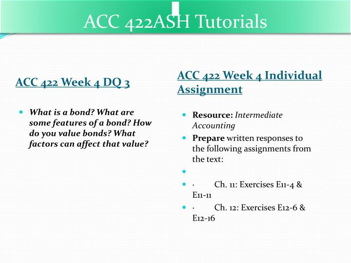 acc 422 exercise 10 12 Click the button below to add the acc 422 week 5 wiley plus e13-1,e13-7,e13-11,e13-13,p13-4,e14-21 to your wish list.