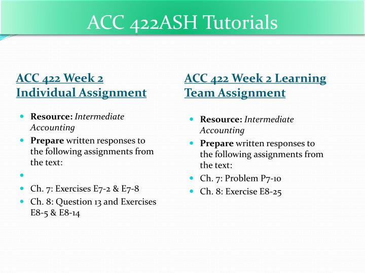 acc 422 exercise 10 12