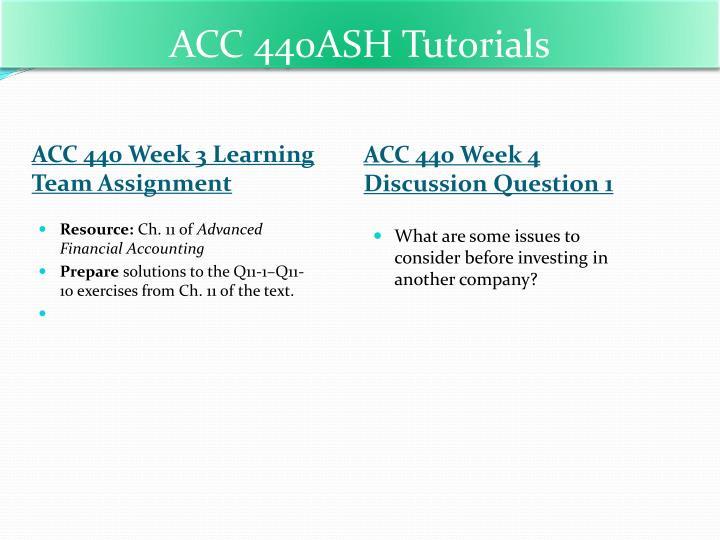 ACC 440ASH