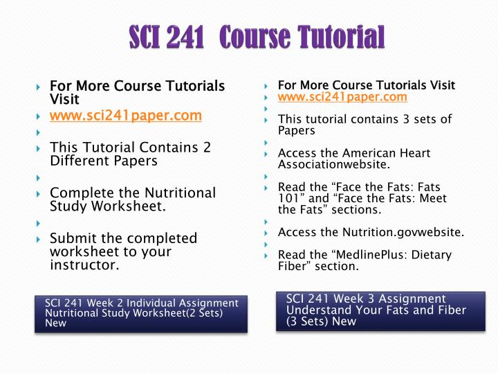 sci 241 understand your fats and fibers Free essays on sci 241 carbohydrates brochure for students week 3 understand your fats and fiber sci/241 week 3 understand your fats and fiber sci/241 may.